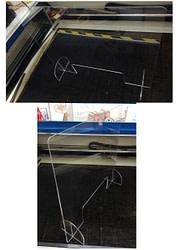 daixoristiko - prostateytiko plexiglass 75x70